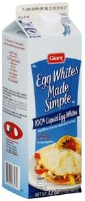 Giant Egg Whites