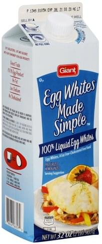 Giant Egg Whites - 32 oz