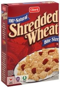 Stop & Shop Cereal Shredded Wheat, Bite Size