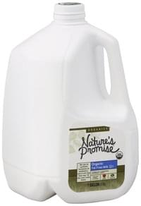 Natures Promise Milk Fat Free, Organic