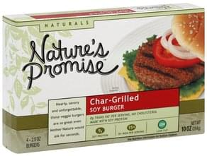 Natures Promise Soy Burger Char-Grilled