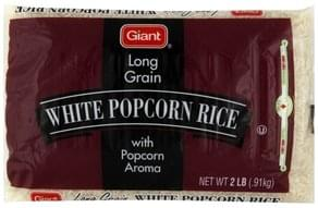 Giant Popcorn Rice White, Long Grain