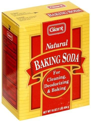 Giant Natural Baking Soda - 16 oz