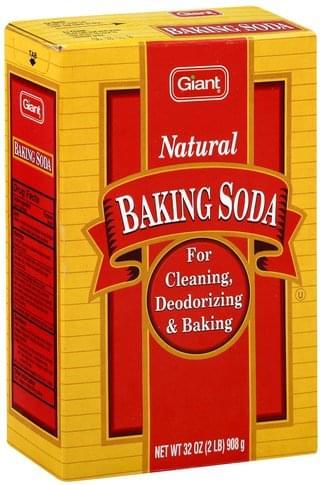 Giant Natural Baking Soda - 32 oz