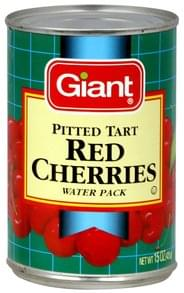 Giant Red Cherries Pitted Tart