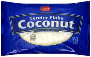 Giant Coconut Tender Flake, Sweetened