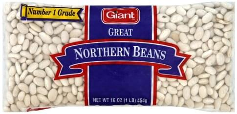 Giant Great Northern Beans - 16 oz