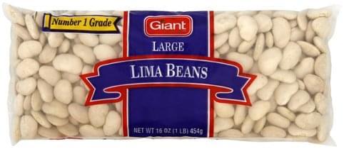 Giant Large Lima Beans - 16 oz