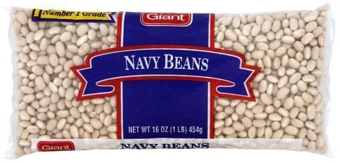 Giant Navy Beans - 16 oz