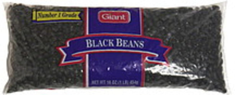Giant Black Beans - 16 oz