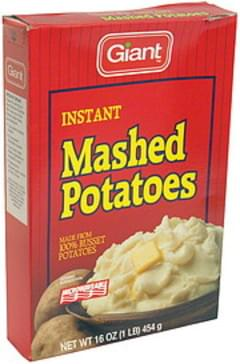 Giant Mashed Potatoes Instant