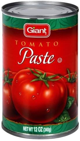 Giant Tomato Paste - 12 oz