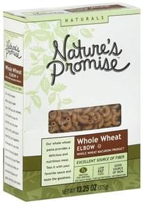 Natures Promise Elbow Macaroni Whole Wheat