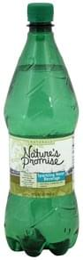 Natures Promise Sparkling Water Beverage