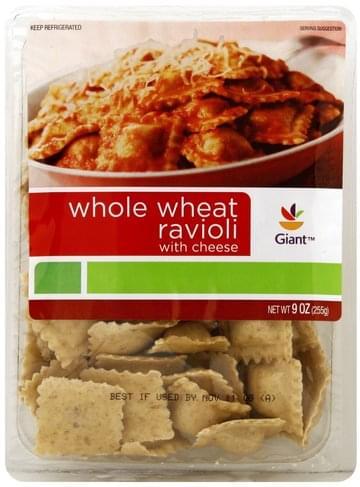 Giant Whole Wheat, with Cheese Ravioli - 9 oz