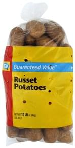 Guaranteed Value Potatoes Russet