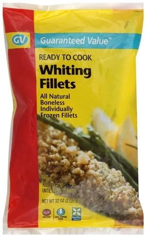 Guaranteed Value Whiting Fillets - 32 oz