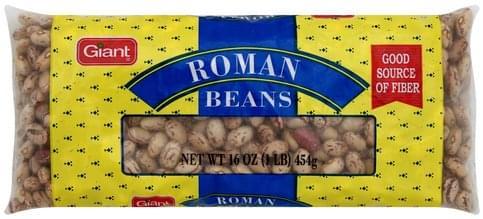 Giant Roman Beans - 16 oz