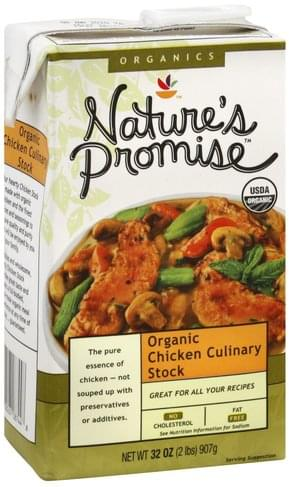 Natures Promise Chicken Culinary Stock - 32 oz