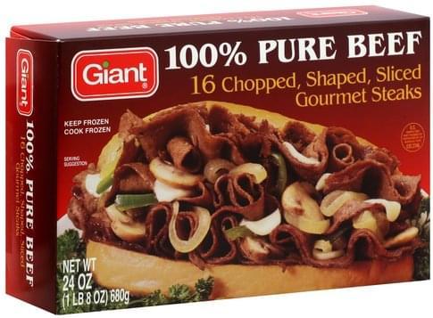 Giant 100% Pure Beef - 24 oz