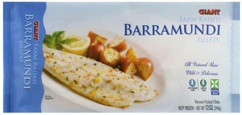 Giant Barramundi Fillets - 12 oz