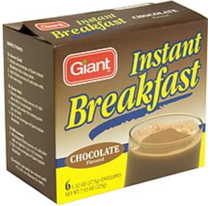 Giant Instant Breakfast Chocolate