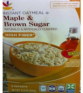 Giant Instant Oatmeal Maple & Brown Sugar