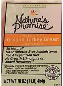Nature's Promise Ground Turkey Breast
