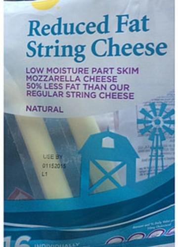 Giant Reduced Fat String Cheese - 28 g