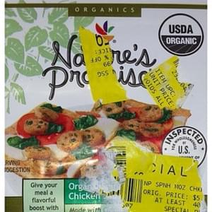 Nature's Promise Organics Organic Spinach and Cheese Chicken Sausage