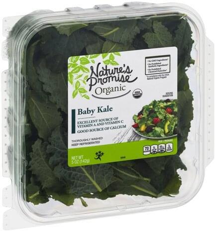 Nature's Promise Organic Baby Kale - 5 oz