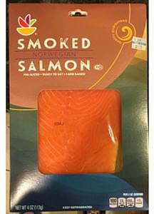 Giant Smoked Salmon