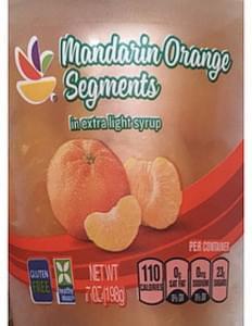 Giant Mandarin Orange Segments