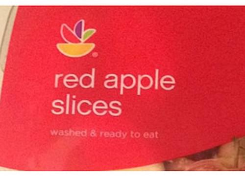 Ahold Red Apple Slices - 114 g
