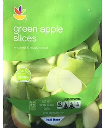 Giant Green Apple Slices - 114 g