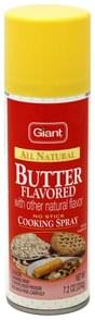 Giant Cooking Spray Cooing Spray, Butter Flavored