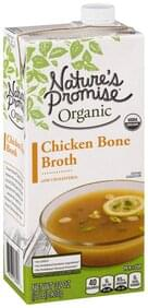 Natures Promise Broth Organic, Chicken Bone