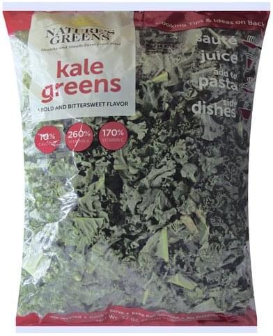 Natures Greens Kale Greens - 32 oz