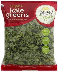 Natures Greens Kale Greens Organic