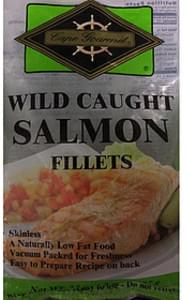 Cape Gourmet Wild Caught Salmon Fillets