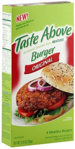 Taste Above Original Burger - 4 ea
