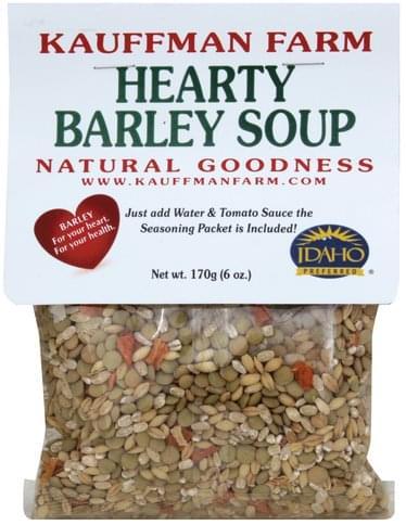 Kauffman Farm Hearty Barley Soup - 170 g