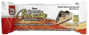 Ansi Natural Protein Bar Peanut Butter Chocolate Chip Cheesecake Flavor