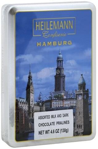 Heilemann Assorted, Pralines Milk & Dark Chocolate - 4.6 oz