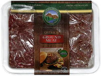 Natural Frontier Foods Ground Meat Ostrich