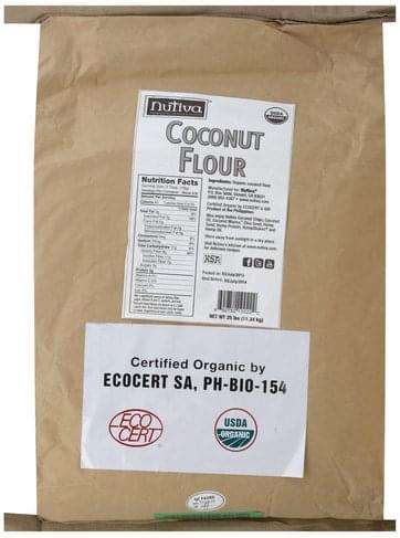 Nutiva Coconut Flour - 25 lb