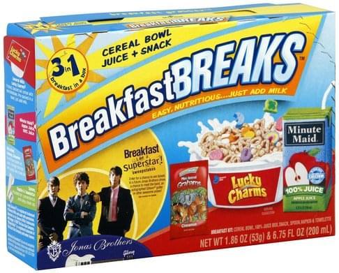 Breakfast Breaks Lucky Charms Breakfast Kit - 1 ea