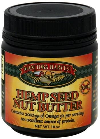 Manitoba Harvest Hemp Seed Nut Butter - 10 oz