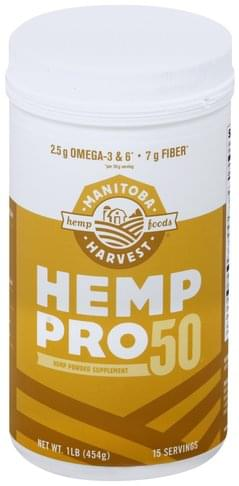 Manitoba Harvest Pro 50 Hemp Powder - 1 lb