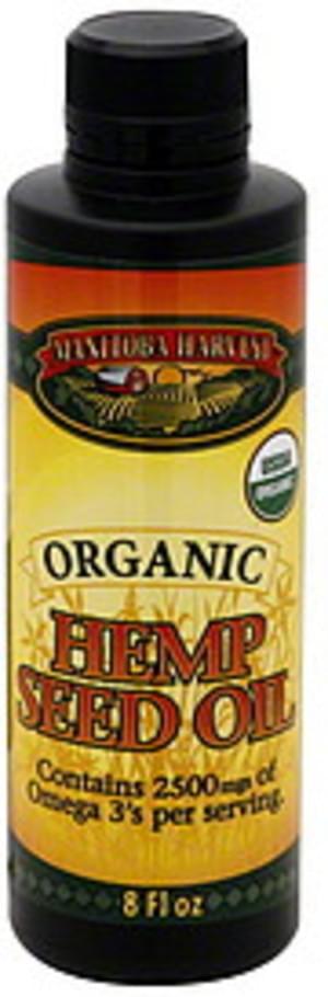 Manitoba Harvest Organic Hemp Seed Oil - 8 oz
